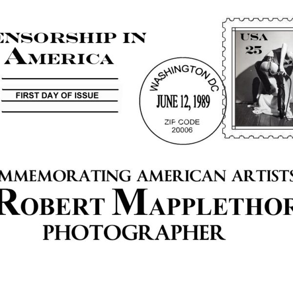 Censorship in America Series: Robert Maplethorpe Self Portrait