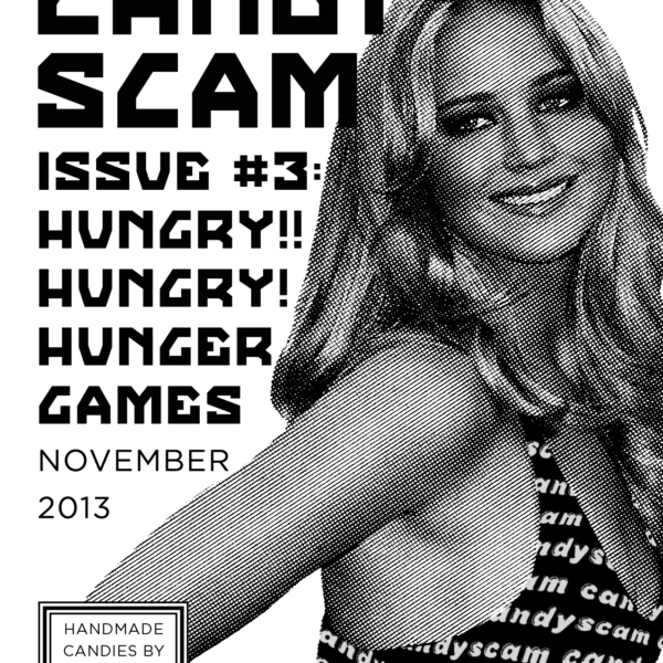 Candyscam #3 (front cover)