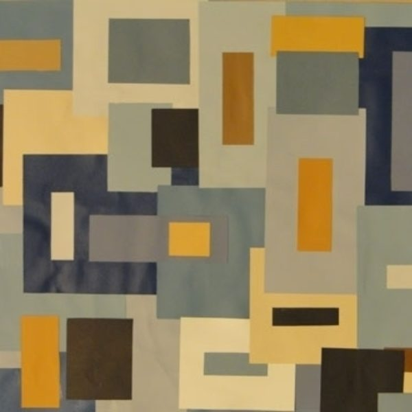 Blue Square Collage