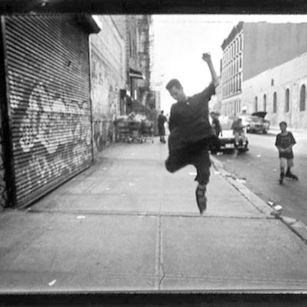 Jump On South 1st Street Williamsburg, Brooklyn